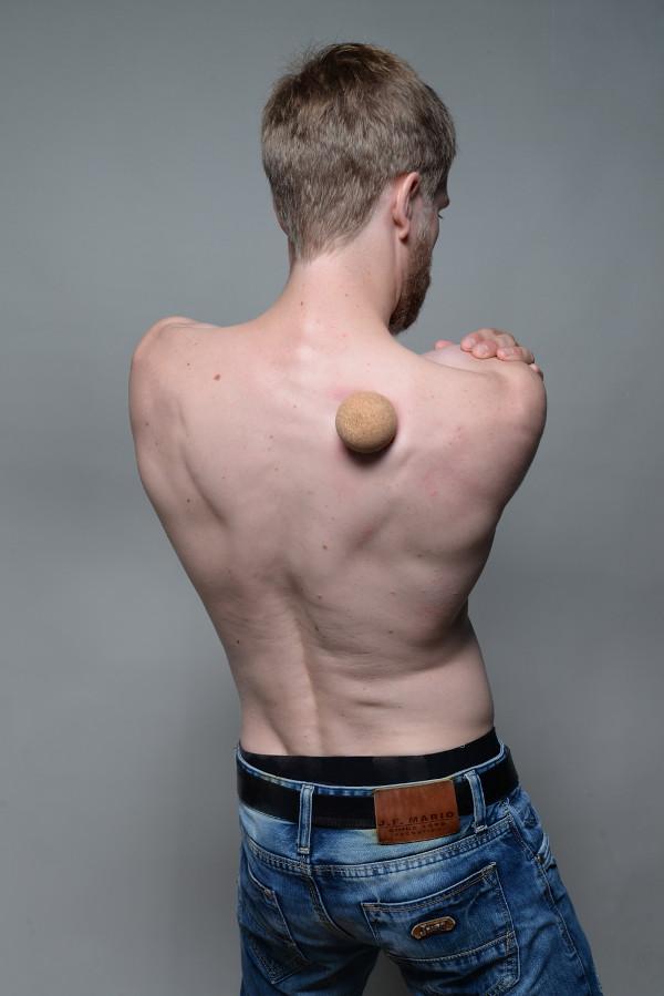 Schulterblatt Schmerzen selbst lösen