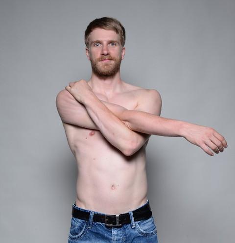 Rückenschmerzen links oben schulterblatt